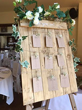 Rustic Pallet Board Table Plan