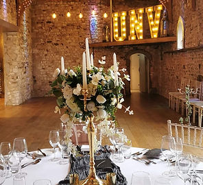 So your ceremony details have been taken care of, or you have already tied the knot? All that's left is the Intimate Wedding Reception and we have just the package for you.