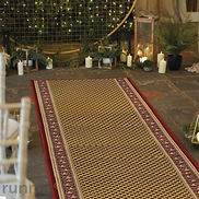 Acni Red Aisle Runner 10m x 1.2m