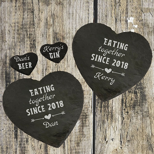 Fully Personalised Slate Placemat Coaster