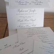Pocketfold Wedding Stationery