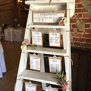 White Wooden Rustic Ladder
