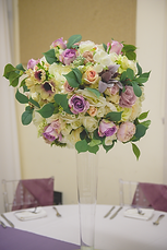 • 8x Large conic vases with very large floral ball centrepieces in ivory, foliage and any accent colour • 8x Mirror base in silver, gold, rose gold or log slice • 4x Candle votives with LED candles for each table • 1x Ceremony table artificial floral spray including arrangements in ivory, foliage and any accent colour • 1x Top Table large full length floral runner in ivory, foliage and any accent colour