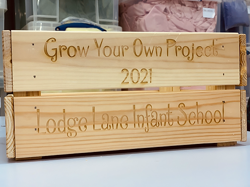 Personalised Gift Box Crate