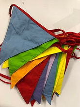 Mixed Bright Coloured Bunting