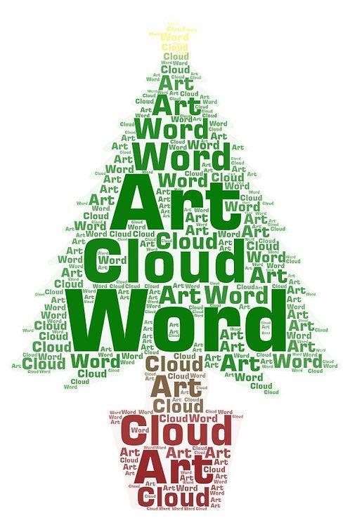 Word Cloud Artwork