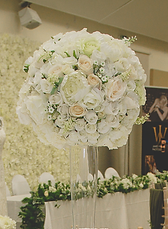 • 8x Large conic vases with very large floral ball centrepieces in ivory • 8x Mirror base in silver, gold, rose gold or log slice • 4x Candle votives with LED candles for each table • 1x Ceremony table artificial floral spray including arrangements in ivory • 1x Top Table large full length Ivory floral runner • *** colours can be added for £25.00 ***