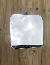 Curved Edge Mirror Plate
