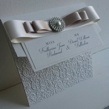 Pocketfold Wedding Stationery