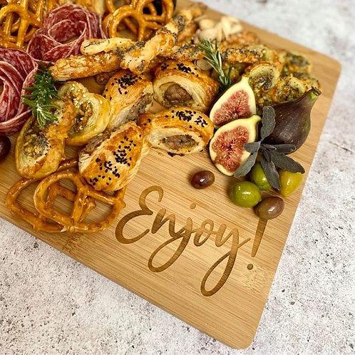 Personalised Chopping Board - Enjoy