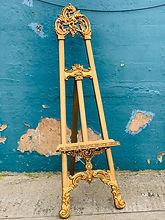 Gold Ornate Easel