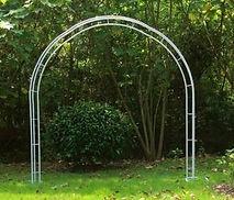 Free Standing Round Wedding Arch