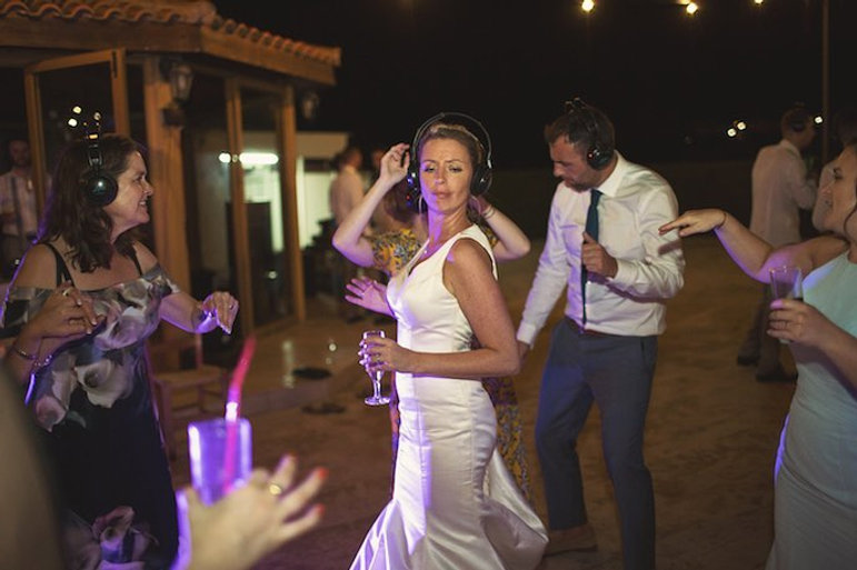 Silent Disco Wedding