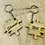 Thumbnail: Personalised Jigsaw Keyring Set