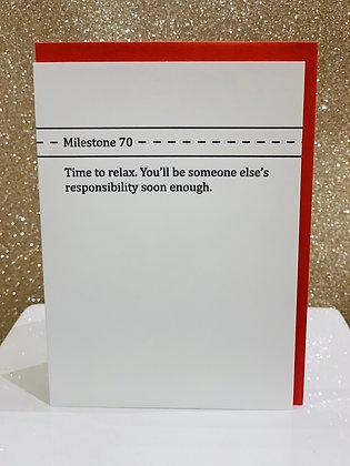 Milestone 70