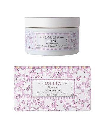 Lollia Lavendar & Honey Body Butter