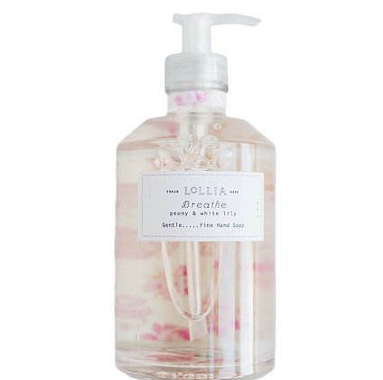 Lollia Peony and White Lily Hand Soap