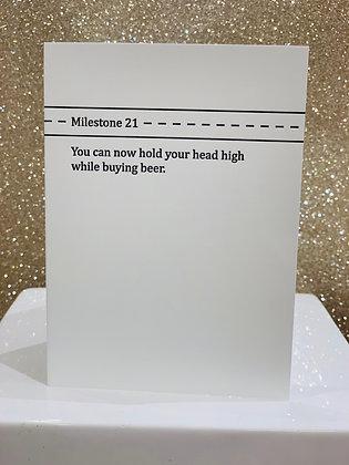 Milestone 21