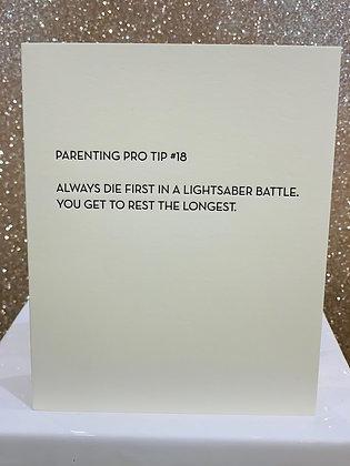 Parenting Pro Tip #18