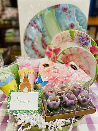 Floral Themed Brunch Set