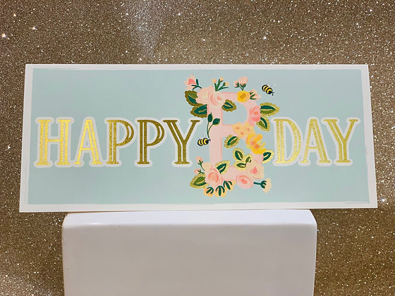 Floral B-day
