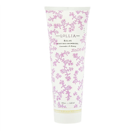 Lollia Lavendar & Honey Shower Gel