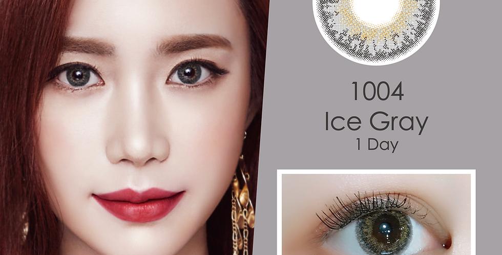 1004 천사 Ice Gray 灰色 日抛( 一盒10片)