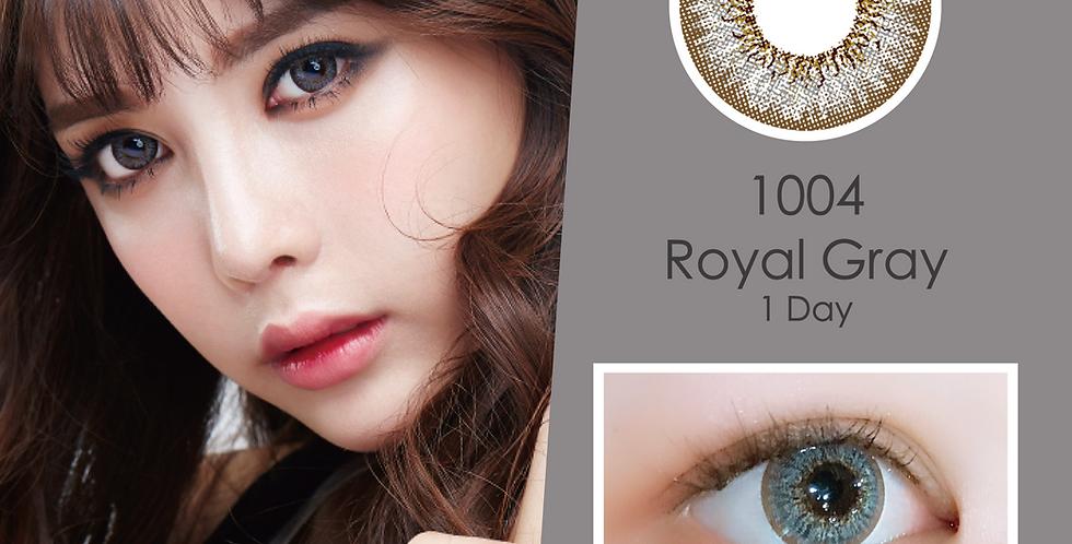 1004 천사 Royal Gray 灰色 日抛( 一盒10片)