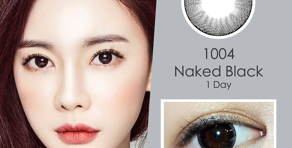 1004 천사 Naked Black 黑色 日抛(一盒30片)