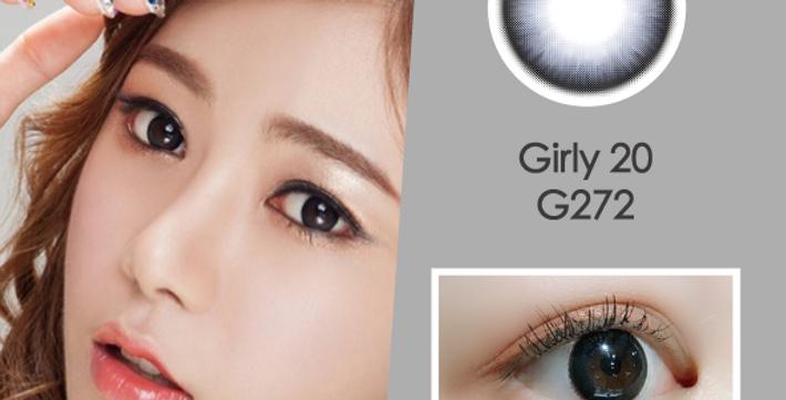 Girly 20 G272 灰黑色 年抛