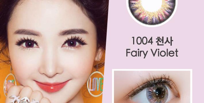 1004 천사  Fairy 粉紫色 月抛