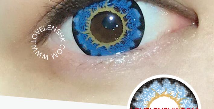 i-Codi Naty IC306 藍色 月抛