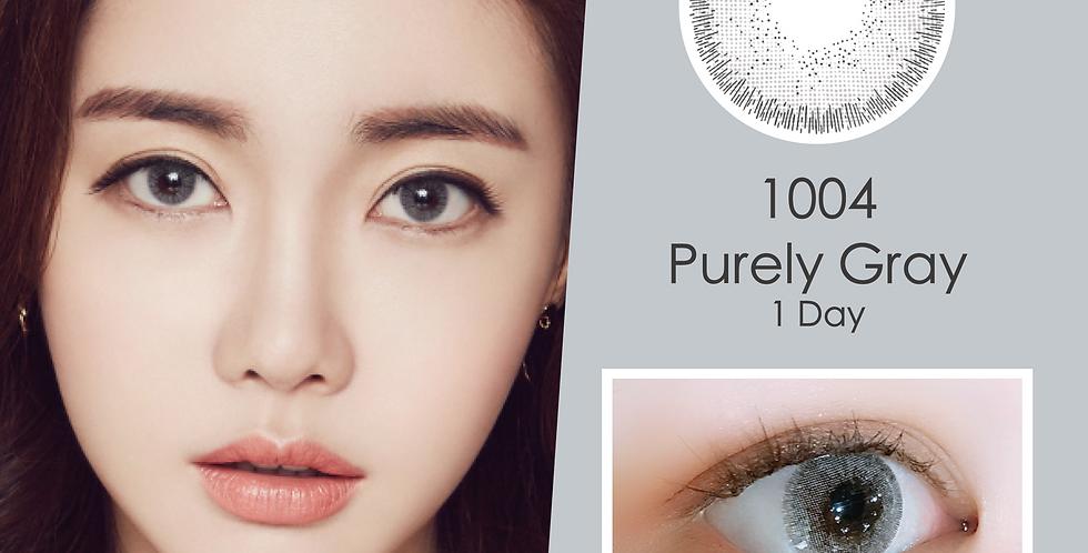 1004 천사 Purely Gray 灰色 日抛( 一盒10片)