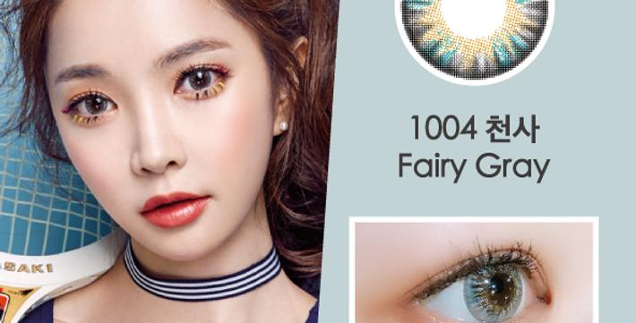 1004 천사  Fairy 灰藍色 年抛