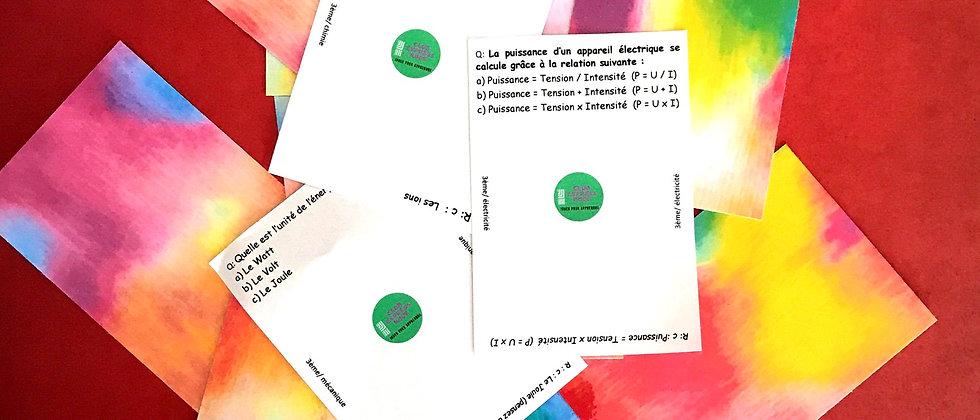 Pack Physique chimie 3ème