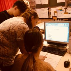 rédaction du cours en collaboration