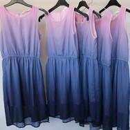 10 robes légères avec dégradé de rose, p
