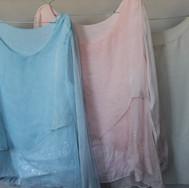 14 blouses fluides transparentes avec pa