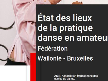 État des lieux de la pratique de la danse en FWB