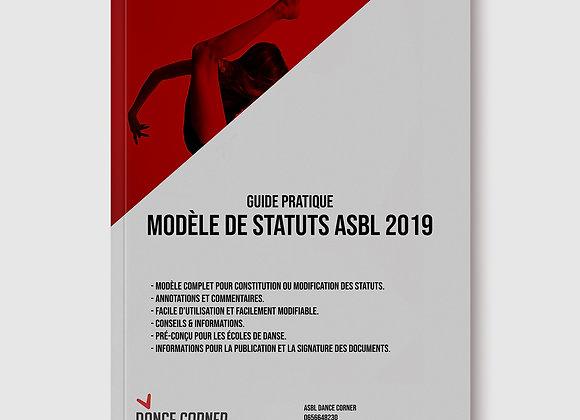 Guide pratique - Modèle de statuts ASBL - 2019