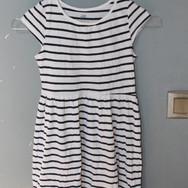 7_robes_rayées_blanc_et_bleu,_style_mari