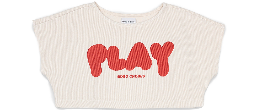 Bobo Choses - Play Cropped Sweatshirt