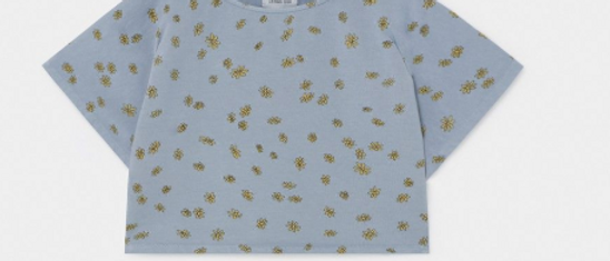 All Over Daisy Cropped Sweatshirt