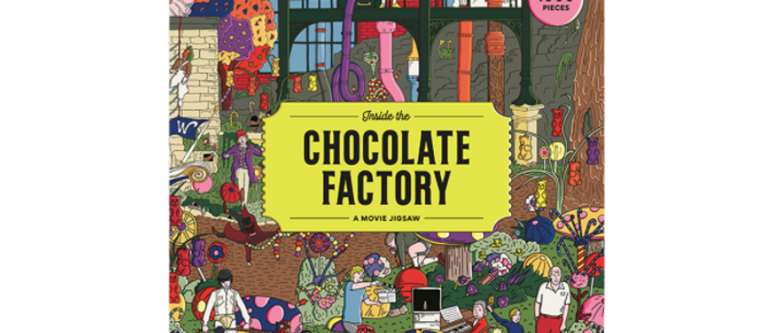 Inside The Chocolate Factory A Movie Jigsaw Puzzle 1000 pieces