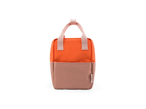Small Backpack Colourblocking - Royal Orange