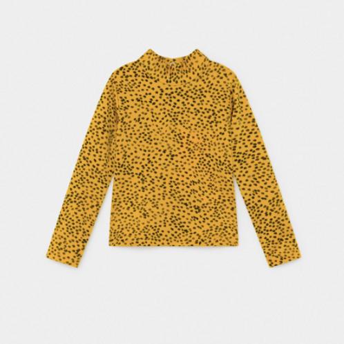 All Over Leopard Print Swim Top