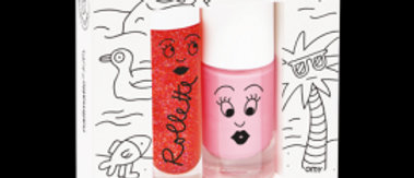 Lip Rollette and Nail Polish