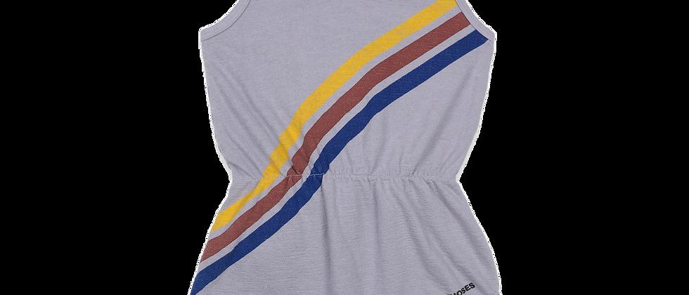 Bobo Choses - Crosswise Stripes Fleece Playsuit
