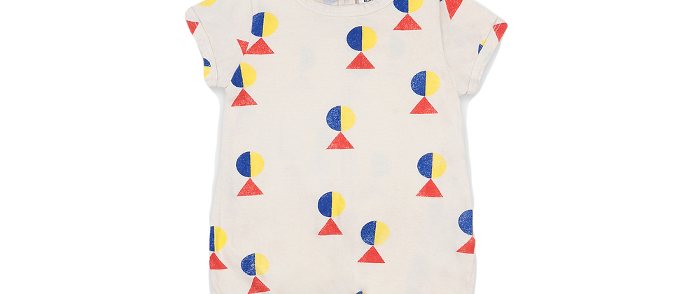 Bobo Choses - Geometric All Over Playsuit