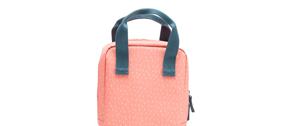 Go Isothermic Lunch Bag Dashes Series Coral